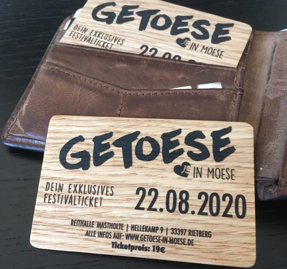Getoese in Moese Karten